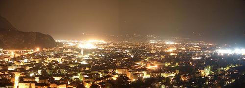 Bozen bei Nacht - © lichtverschmutzung.de