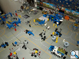 Lego-Sammlung im Astronomiemuseum, © Tanja Morschhäuser