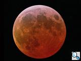 Phasen einer totalen Mondfinsternis, © Sebastian Voltmer, weltraum.com