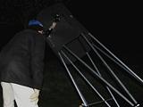 Blick durchs Teleskop © AAW Darmstadt